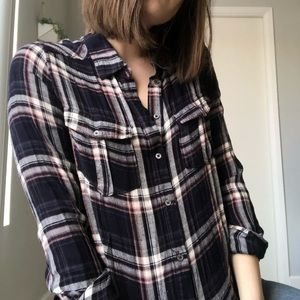 PAIGE plaid flannel